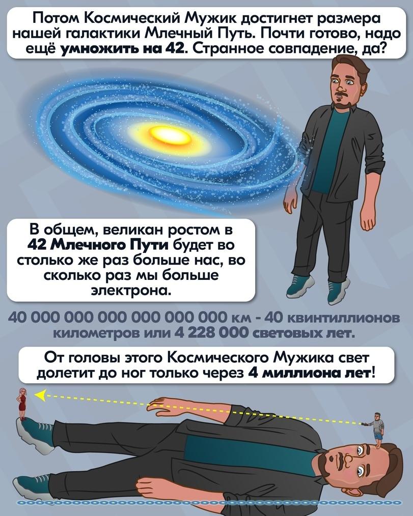 Огромный космический мужик