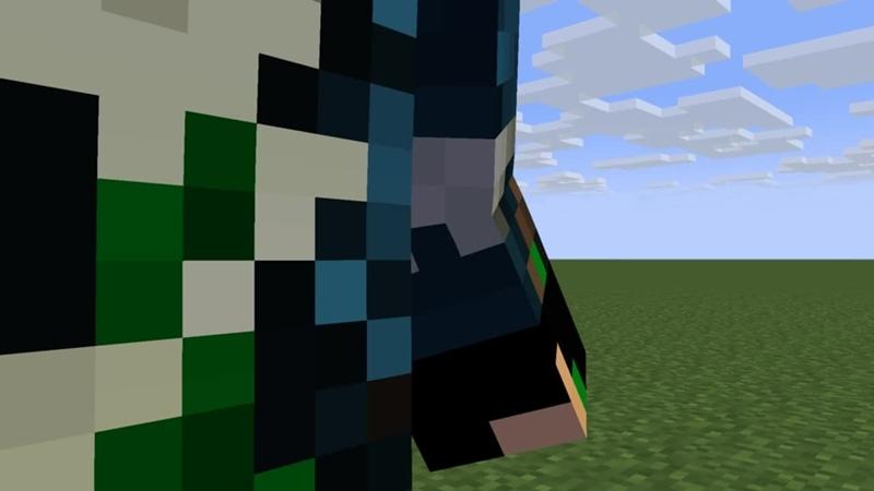 Mine-imator. Test sword 2
