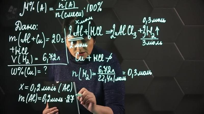 Вычисление массы продукта реакции по изв-ной массе исходного вещ-ва, сод-го прим(1)