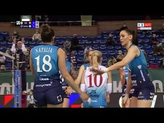 Волейбол ЛЧ женщины 3-й день 3-я игра Динамо Москва vs Вк Экзачибаши