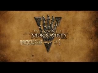 🎮 The Elder Scrolls III: Morrowind - OpenMW. СТРИМ 9. На побегушках у Телвани. Часть 2