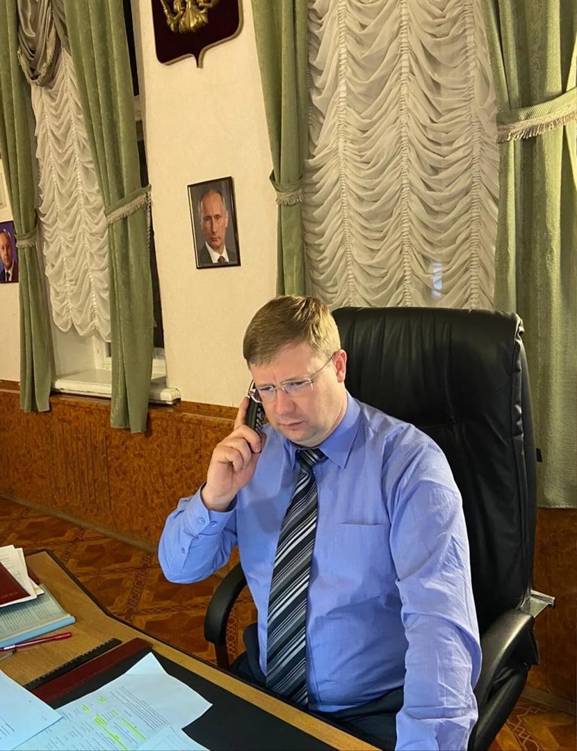 Состоялся личный приём главы Петровского района Дениса Фадеева