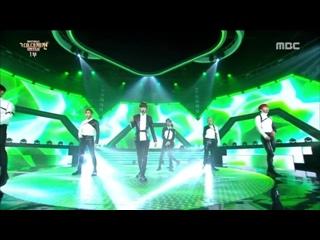 [VK][171231] MONSTA X - Beautiful (acoustic ver.) + DRAMARAMA (remix) @ MBC Gayo Daejejeon : The FAN