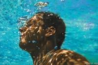 underwater painting of people by houston - 700×410