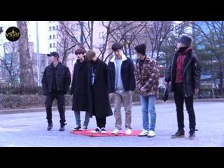 [RAW VK][] MONSTA X arrive at Music Bank @ Vstar