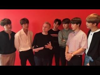 [INTERVIEW] 170523 BTS на KIIS FM Live Session (США)