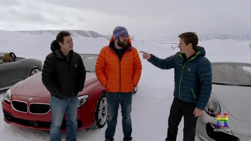 Top Gear Америка 5 сезон 8 серия Зимой без крыши RUS Jetvis Studio HD Топ Гир US USA America