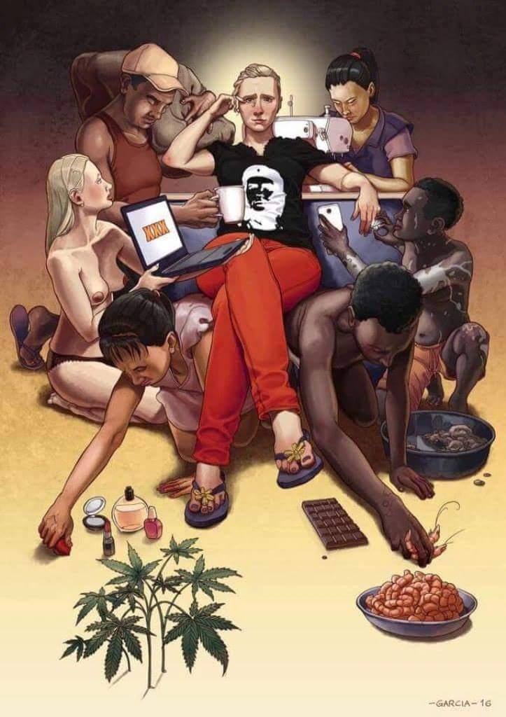 Иллюстрация «Твои персональные рабы» художника Daniel Garcia