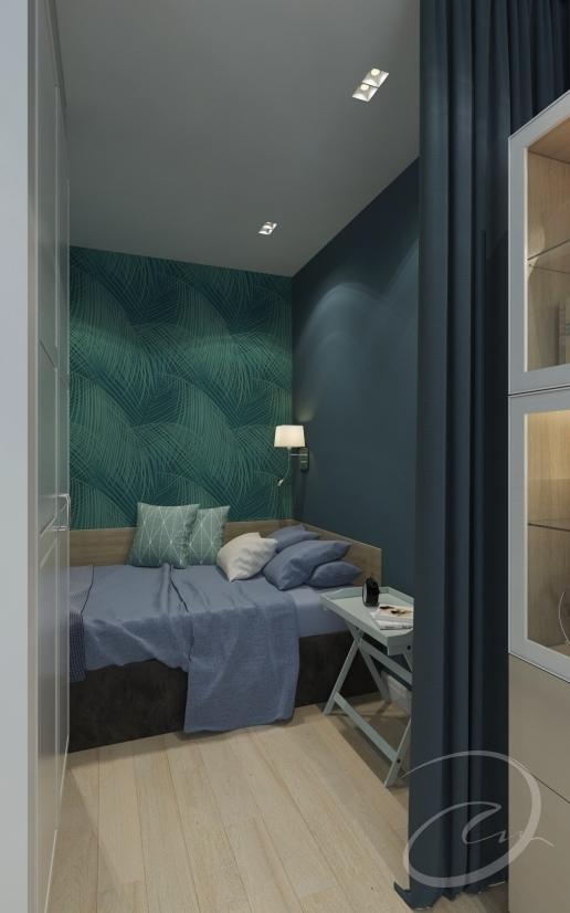 Проект квартиры-студии 30 м.