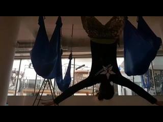 AntiGravity с Мариной Пляцко. Фитнес - центр NEWTONE.