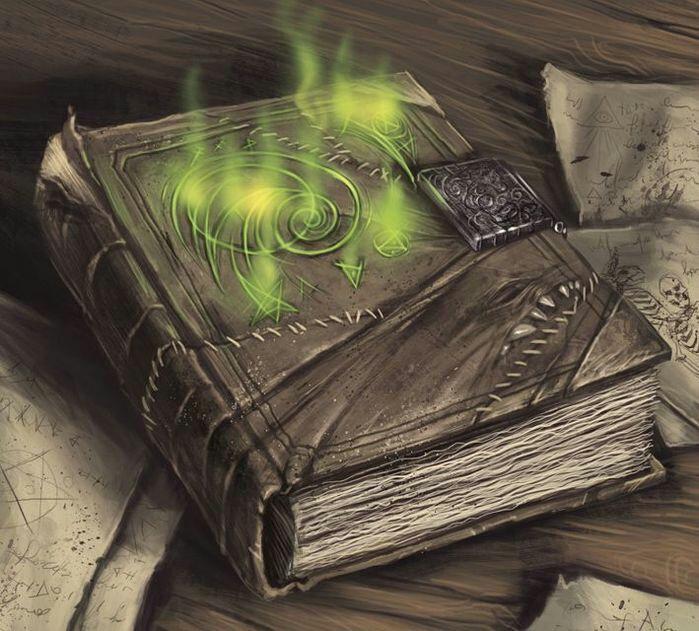 Книга, живая, магическая. Шрамированная и со скелетами в шкафу