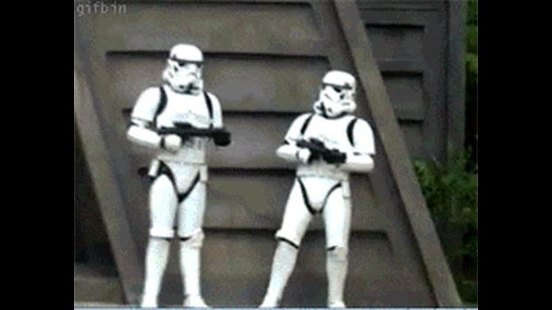 Cмешной момент Star Wars Battlefront 2