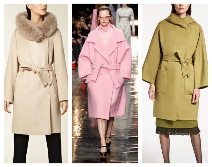 Пальто халат и стиль оверсайз