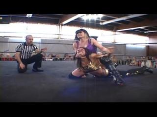 Britani Knight aka Paige (with Rebecca Knox) vs. Mercedes Martinez (2011.03.27 )