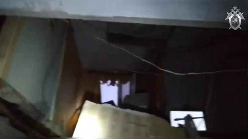 Обрушение стены в Новонежино