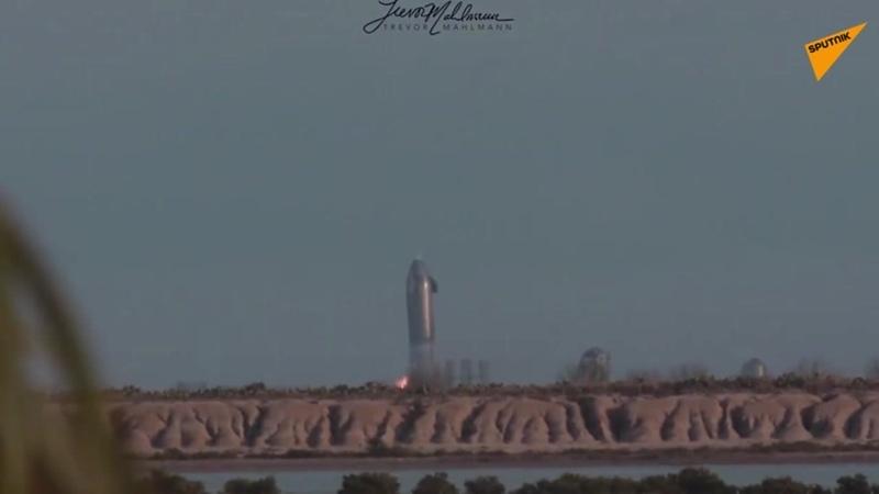 Starship от SpaceX разлетелся вдребезги после посадки
