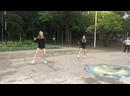 Танец девочек. 1 отряд