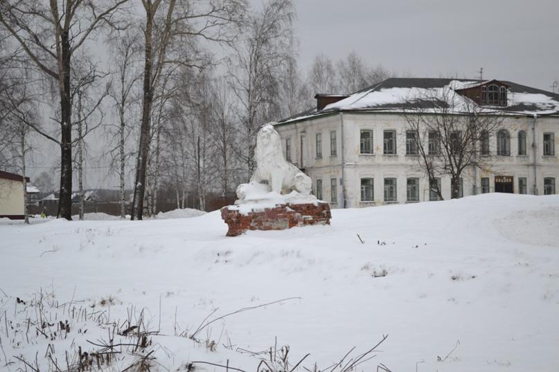 Царь зверей в Сольвычегодске., изображение №1