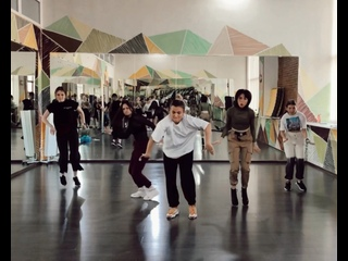 DANCEHALL NEW SCHOOL CLASS | Kate Mighty