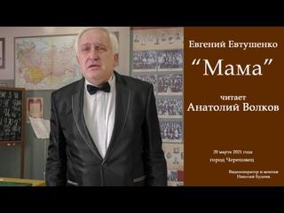 """Евгений Евтушенко. """"Мама"""". Читает Анатолий Волков"""