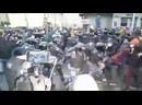 Жестокая драка протестующих с ОМОНом на Страстном.