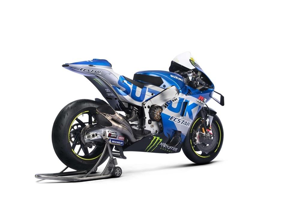 Команда Ecstar Suzuki Racing 2021 + цвета Suzuki GSX-RR 2021