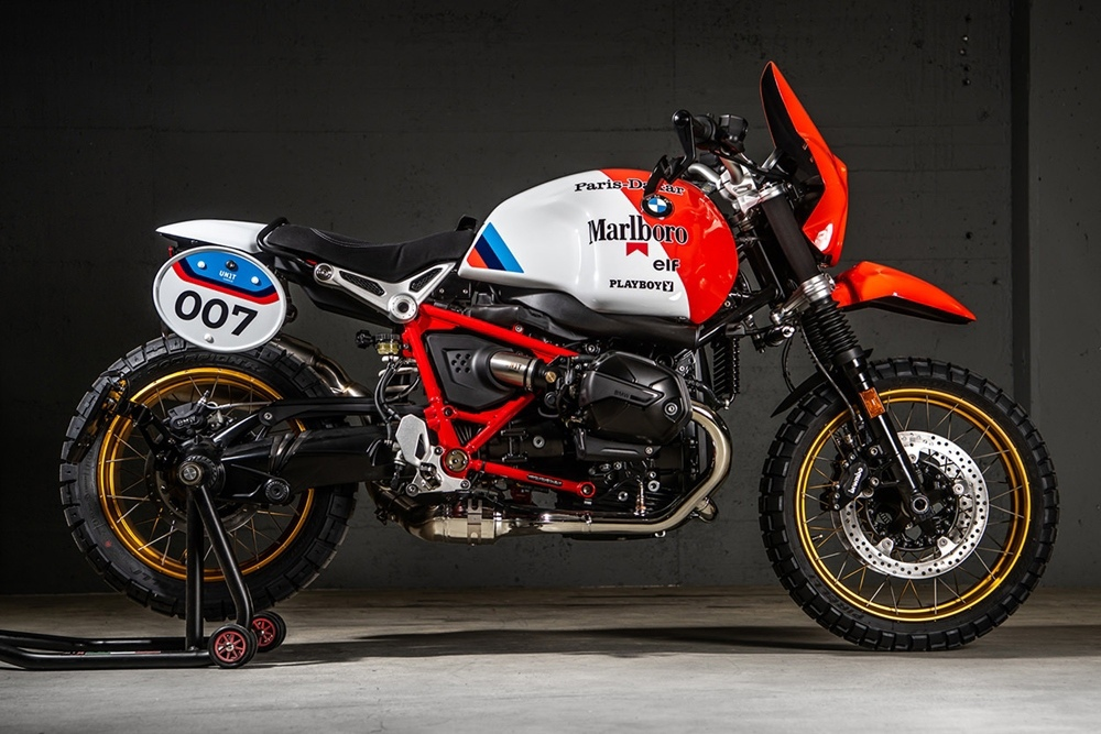 VTR Customs: кастом BMW R nineT Paris-Dakar