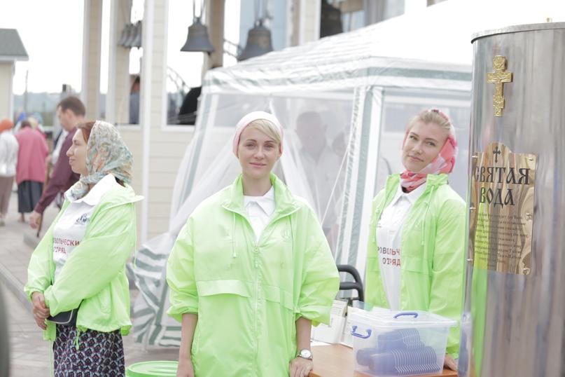 Православные волонтеры «Союза Маринс Групп» оказали помощь в освещении храма в Нижнем Новгороде, изображение №3