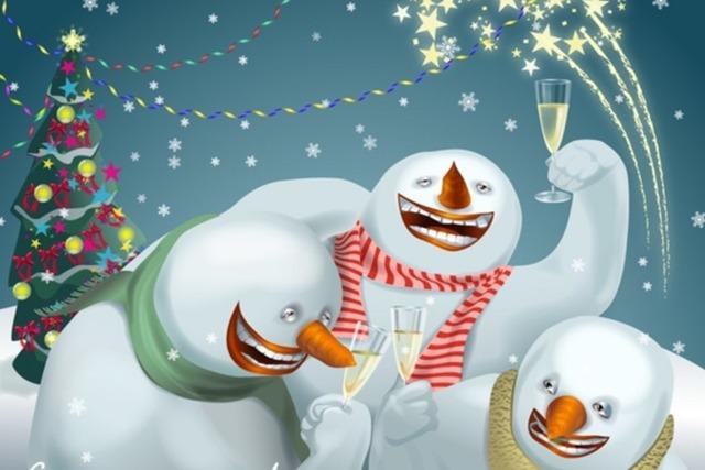 Новогодние юмористические истории, приколы и анекдоты
