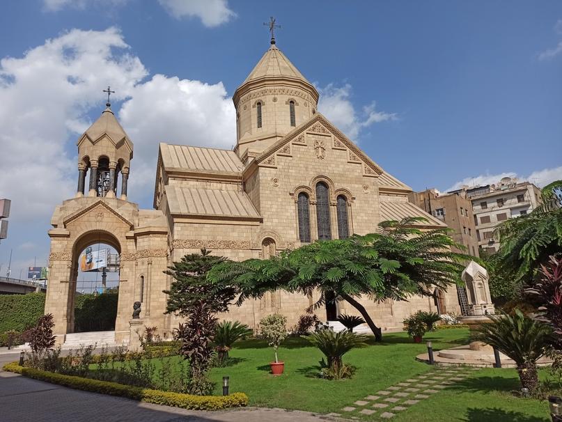 Армянская церковь Каира