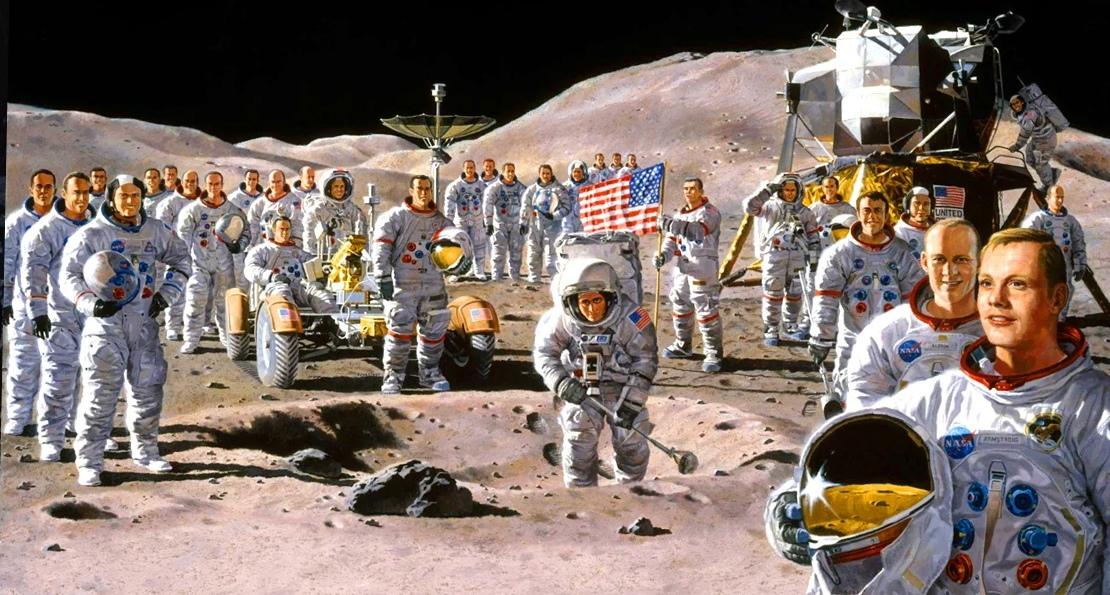 Американцы и космос