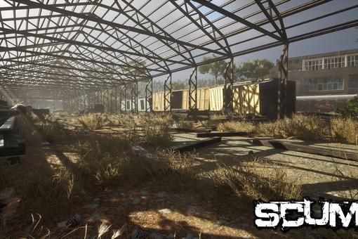 SCUM: Железнодорожный вокзал. Скоро в...