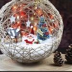Ажурные елочные шары своими руками — МК и идеи