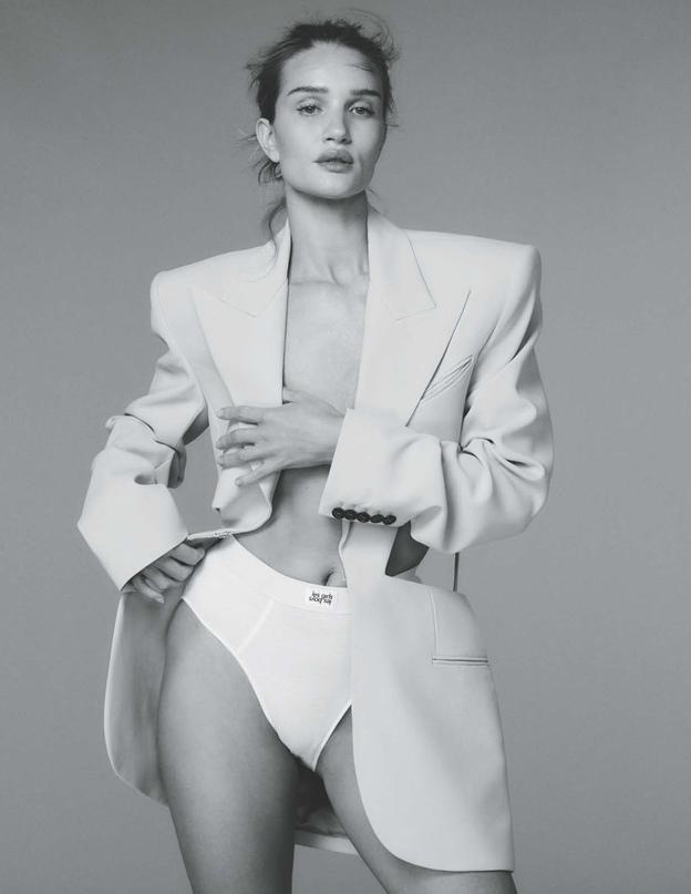 Из интервью Рози Хантингтон-Уайтли для майского выпуска Elle Россия: