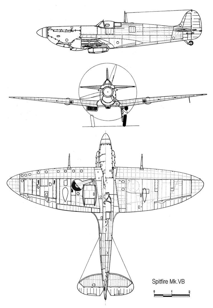 Supermarine Spitfire Mk V сильнейший истребитель КВВС в 1941 году