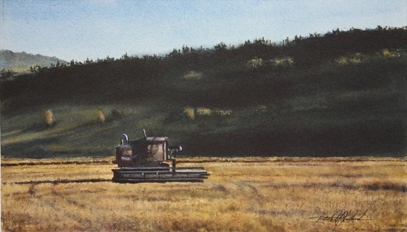 Американский художник-акварелист. Robert McFarland, изображение №47