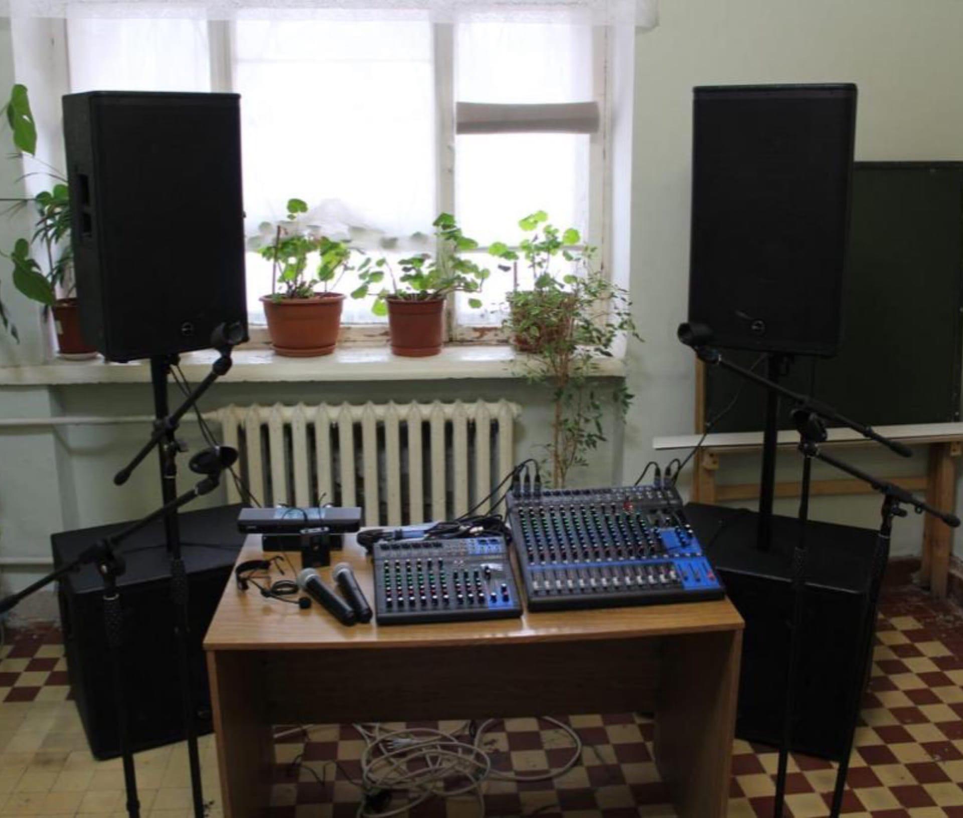 В Центре «Созвездие» появилось новое звуковое оборудование