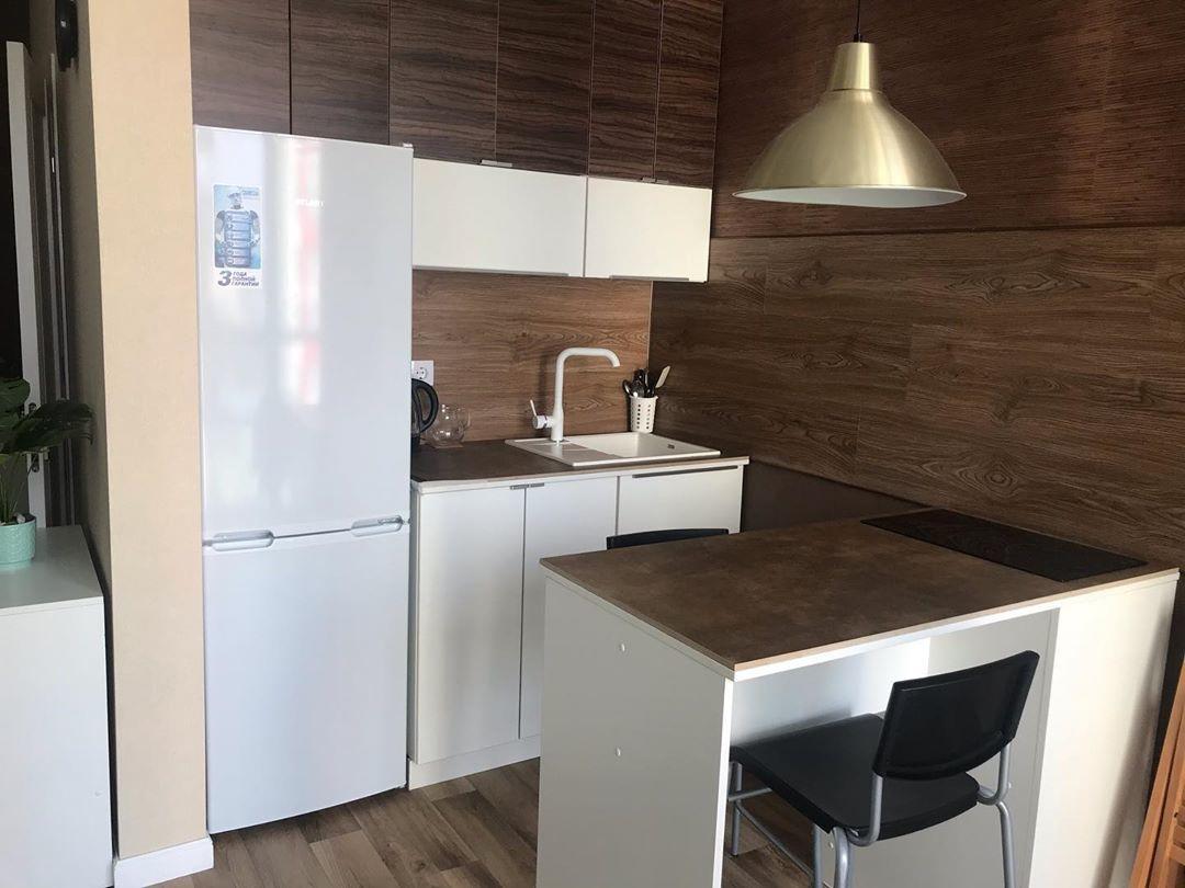 Бюджетный ремонт квартиры-студии 36 м для семейной пары.