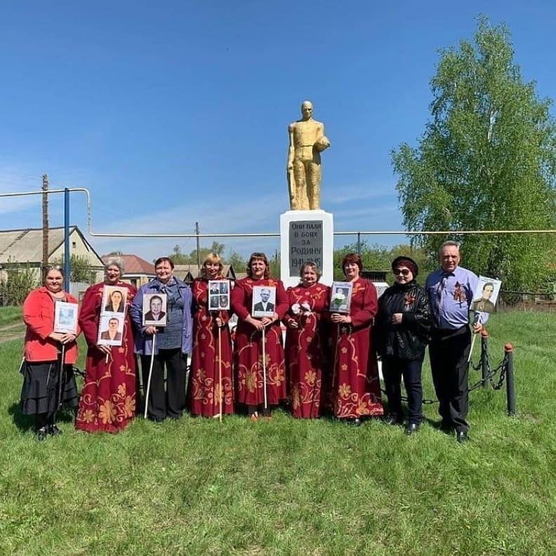 В канун 76-й годовщины победы советского народа в Великой Отечественной войне во всех сёлах и посёлках Петровского района состоялись торжества, посвящённые Дню Победы