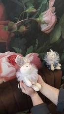 Расцветаем - букетик из зайчика, котика и лисички)) Серия Неженки прекрасно помещаются в ладошки Мож