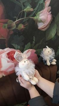 Расцветаем - букетик из зайчика, котика и лисички))