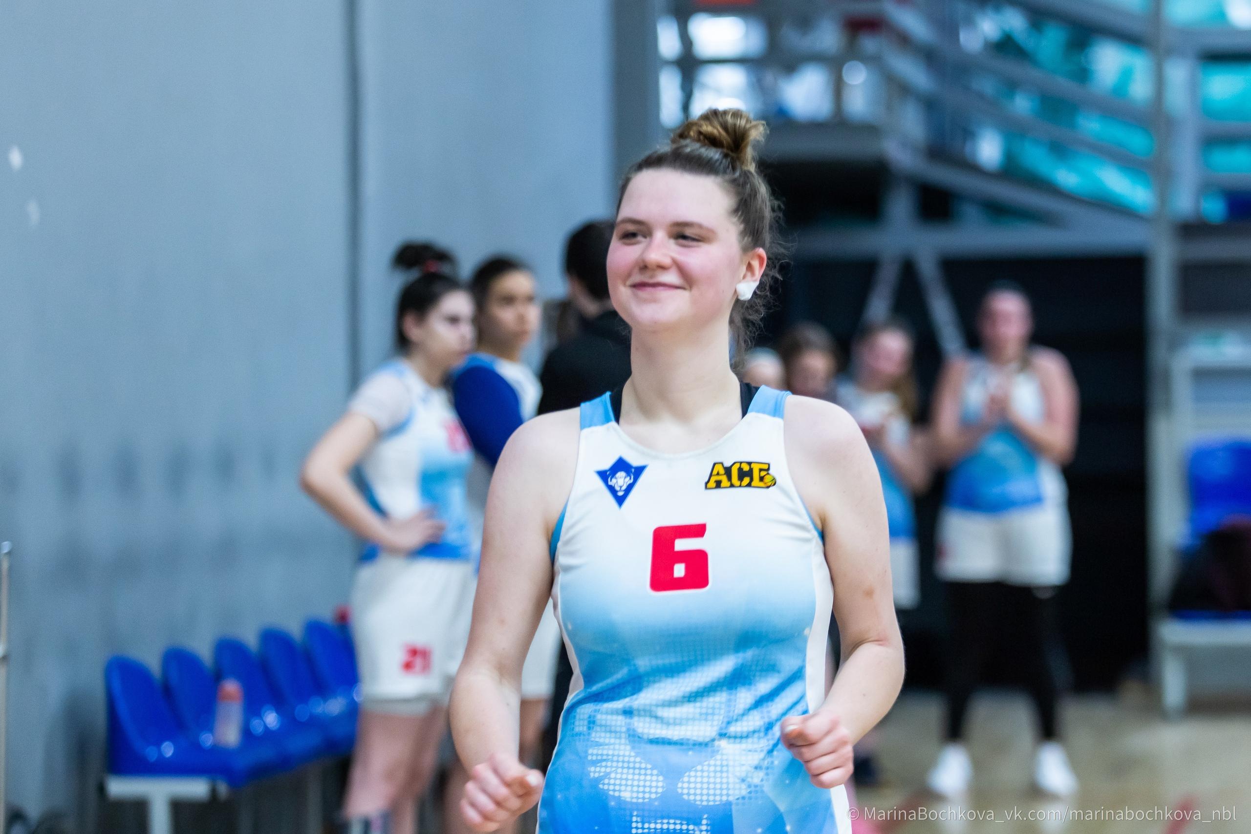Ксения Игнашина, самый полезный игрок НБЛ среди женских команд сезона 2020-2021