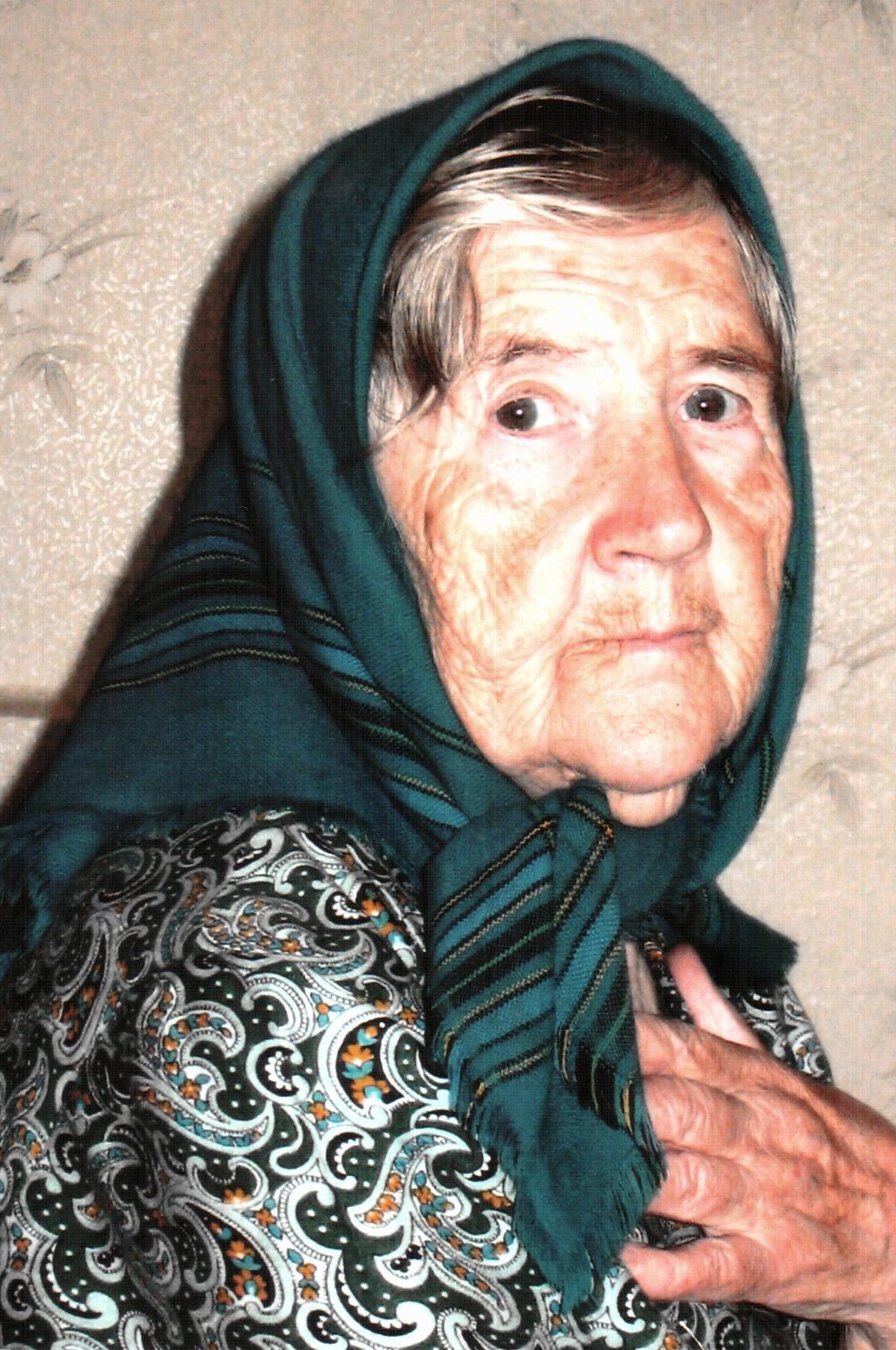 Моя прабабушка — баба Маня