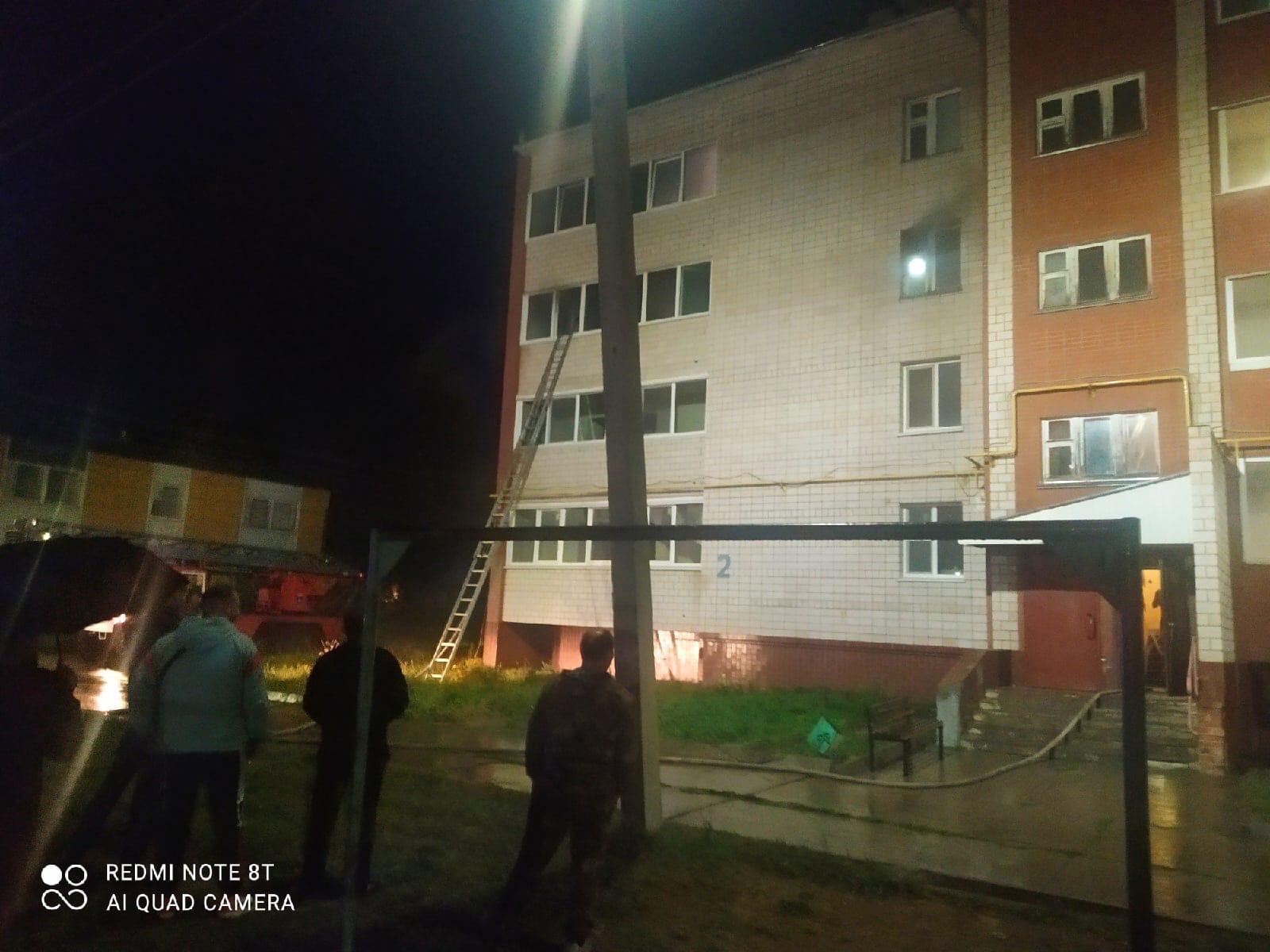 #ОтПодписчикаНа Финском посёлке горит многоэтажка