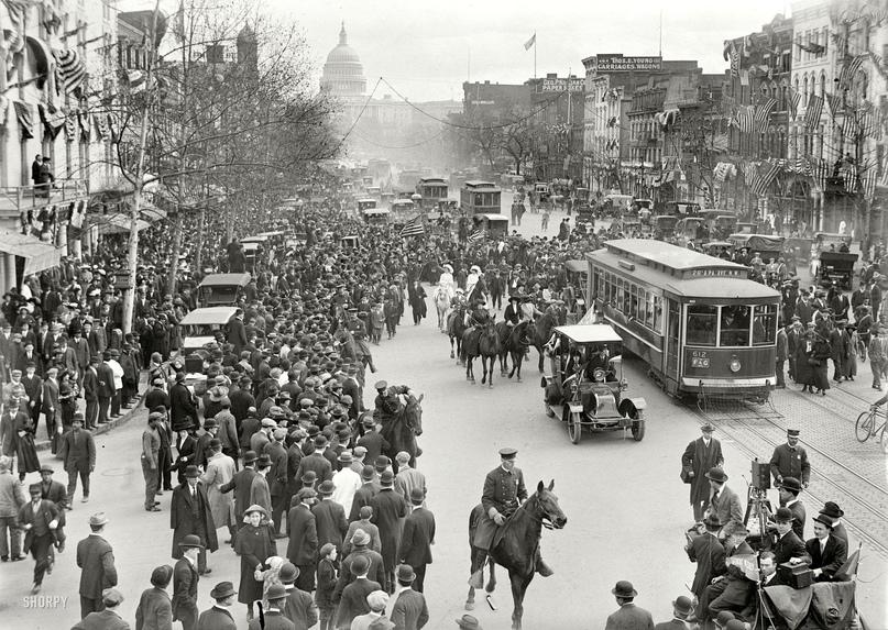 HD-фотографии городов США сделанные в 1900-1915 годах, изображение №14
