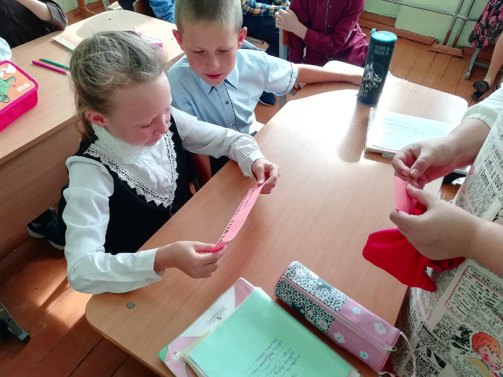 14 сентября в Кватчинскую школу приезжала газета