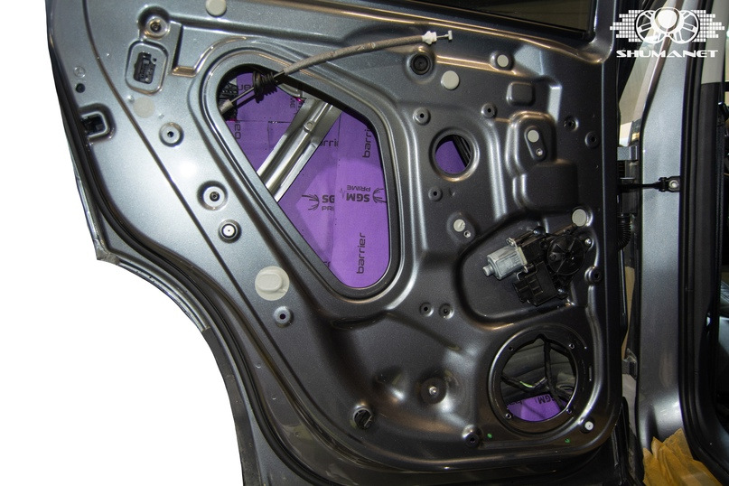 Комплексная шумоизоляция Skoda Karoq., изображение №9