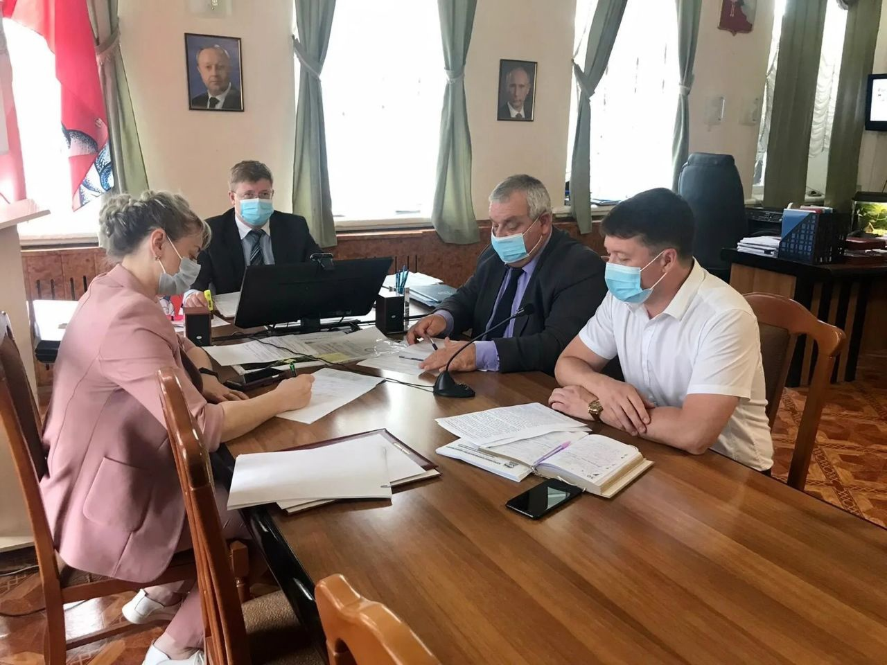 На аппаратном совещании подвели итоги праймериз кандидатов «Единой России»