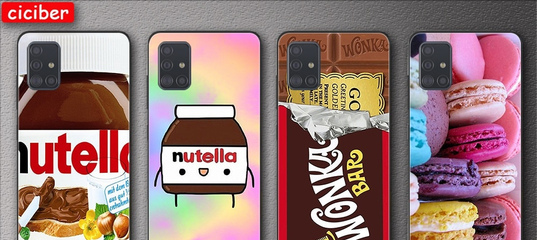 175.66руб. 34% СКИДКА|Чехол шоколадный Nutella для Samsung Galaxy A51 S20 S21 S10 S9 S8 S7 Plus Ultr
