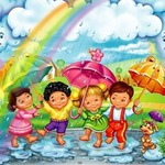 Кап, кап, кап! — короткие стихи о дожде